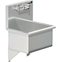 20 X 15 SERVICE SINK W / WALL FAUCET